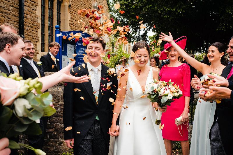 George and Madeleine Wedding